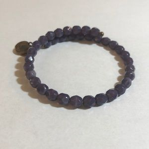 ALEX AND ANI V66 Purple Beaded Wrap- RETIRED